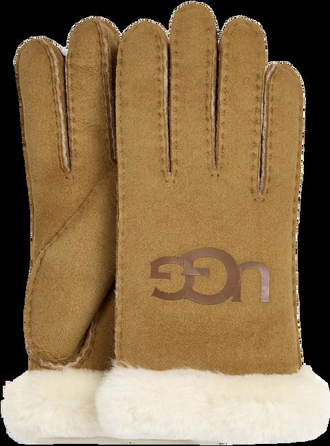 Cognacfarbene UGG Handschuhe 18691  - large