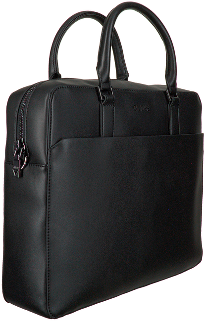 Schwarze GUESS Laptoptasche SCALA BRIEFCASE  - large