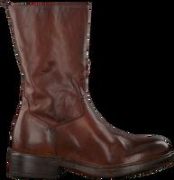 Cognacfarbene WALK IN THE PARK Hohe Stiefel BL-1  - medium