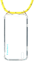 Gelbe KASCHA-C Handy-Schutzhülle PHONECORD IPHONE X/XS  - medium