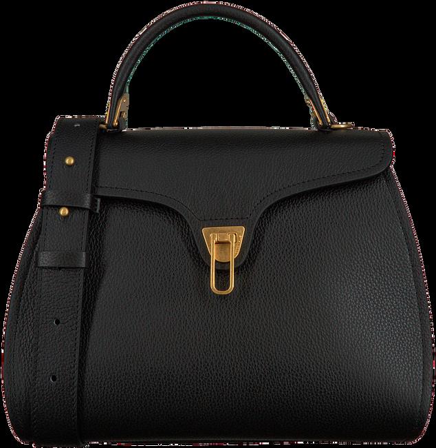 Schwarze COCCINELLE Handtasche MARVIN 1803  - large
