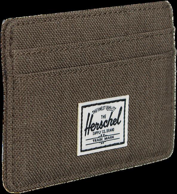 Grüne HERSCHEL Portemonnaie CHARLIE - large