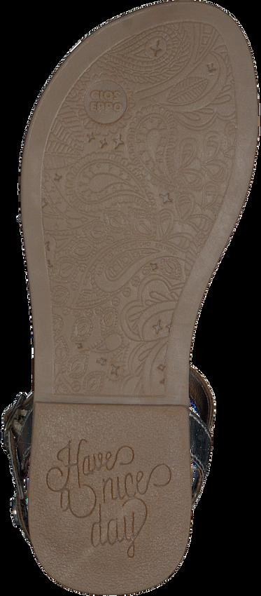 Silberne GIOSEPPO Sandalen 48616  - larger