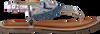 Blaue GIOSEPPO Sandalen BERMUDAS  - small