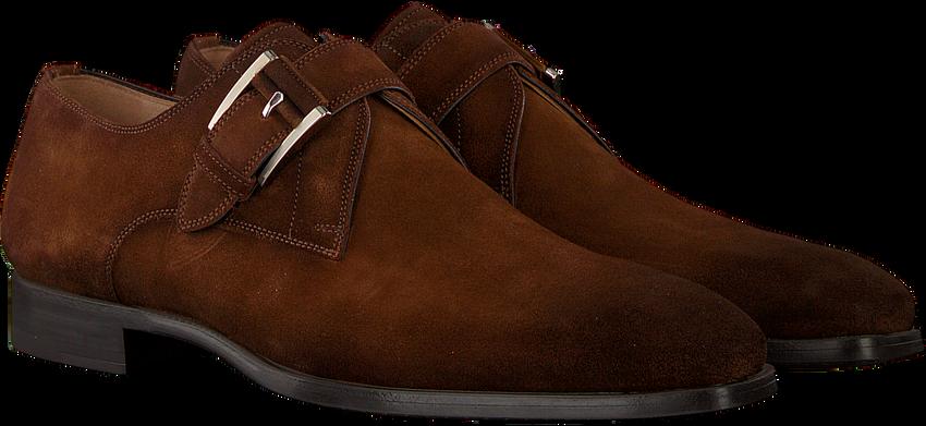 Cognacfarbene MAGNANNI Business Schuhe 19531 - larger