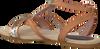 cognac MALUO shoe 5095  - small