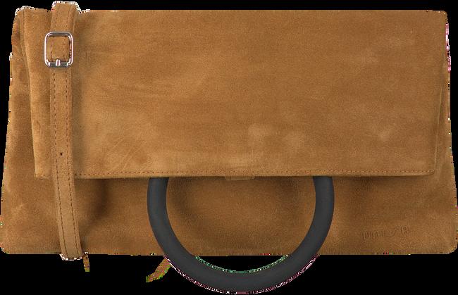 Camelfarbene UNISA Handtasche ZLILY  - large