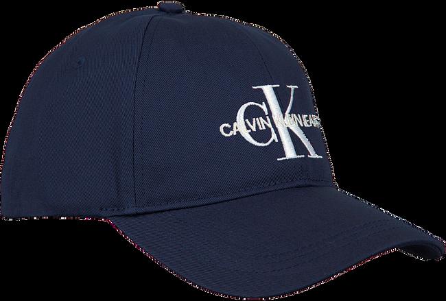 Blaue CALVIN KLEIN Kappe J MONOGRAM CAP M  - large