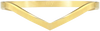 Goldfarbene MY JEWELLERY Armband V BANGLE - small