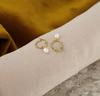 Goldfarbene NOTRE-V Ohrringe OORBEL PAREL  - small