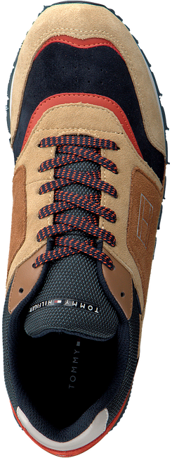 Camelfarbene TOMMY HILFIGER Sneaker low DORIAN 1C  - large