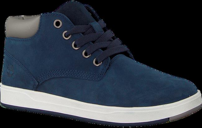 Blaue TIMBERLAND Ankle Boots DAVIS SQUARE 6 KIDS - large