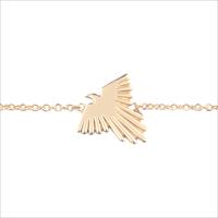 Goldfarbene ALLTHELUCKINTHEWORLD Armband SOUVENIR BRACELET EAGLE - medium