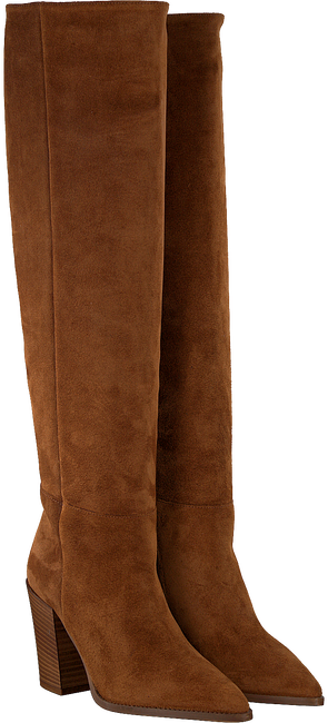 Cognacfarbene NOTRE-V Hohe Stiefel 4459  - large
