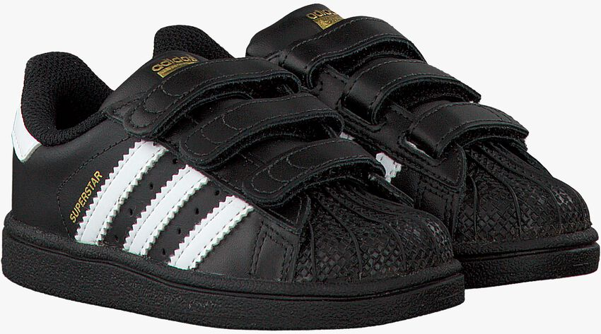 Schwarze ADIDAS Sneaker SUPERSTAR CF - larger