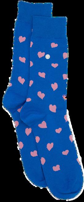 Blaue Alfredo Gonzales Socken HEARTS  - large