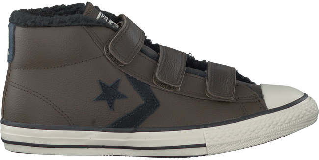 Braune CONVERSE Sneaker STAR PLAYER 3V MID - large
