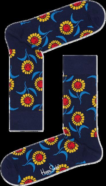 Blaue HAPPY SOCKS Socken SUNFLOWER SOCK  - large