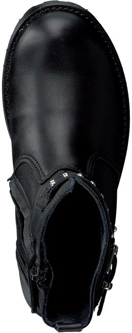 Schwarze HIP Biker Boots 1859 - large