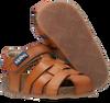Cognacfarbene KIPLING Sandalen FIDEL - small
