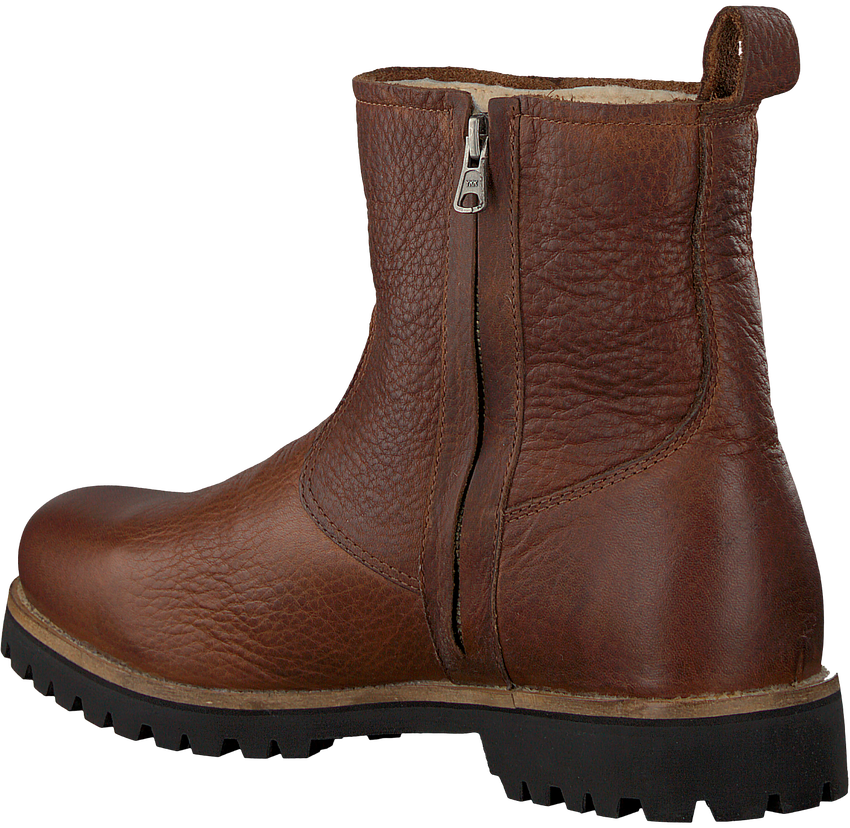 Braune BLACKSTONE Ankle Boots OM63 - larger