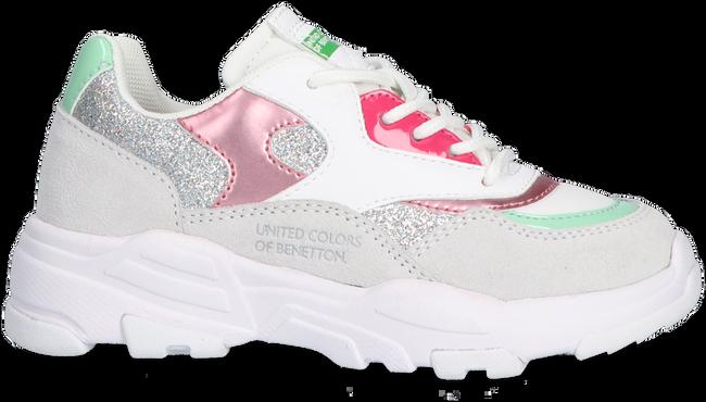Weiße BENETTON Sneaker low VAST GLITTER  - large