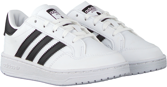 Weiße ADIDAS Sneaker low TEAM COURT C  - large
