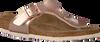 Bronzefarbene BIRKENSTOCK Pantolette GIZEH - small