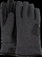 Graue UGG Handschuhe FABRIC AND LEATHER GLOVE - medium