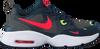 Grüne NIKE Sneaker low AIR MAX FUSION  - small