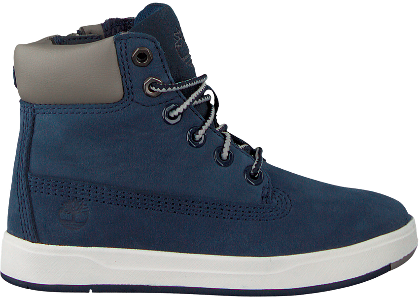 Blaue TIMBERLAND Ankle Boots DAVIS SQUARE 6 KIDS - larger