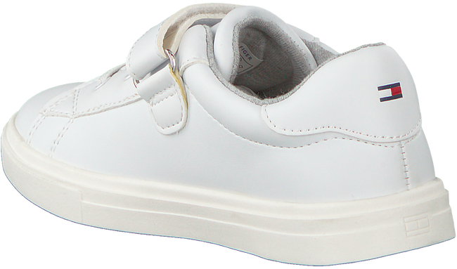 Weiße TOMMY HILFIGER Sneaker LOW CUT LACE UP/VELCRO  - large