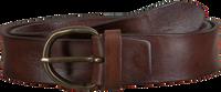 Braune MAZZELTOV Gürtel 508/35  - medium