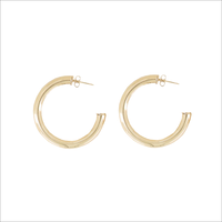 Goldfarbene MY JEWELLERY Ohrringe OORRINGEN ROND MEDIUM  - medium
