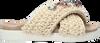 Beige INUIKII Pantolette WOVEN STONE  - small
