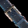 Blaue GIORGIO Gürtel HE1023  - small