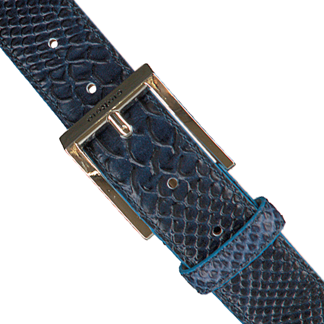 Blaue GIORGIO Gürtel HE1023  - large