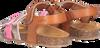 Cognacfarbene KIPLING Sandalen ROMA 2  - small