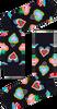 Schwarze HAPPY SOCKS Socken SACRED HEART  - small