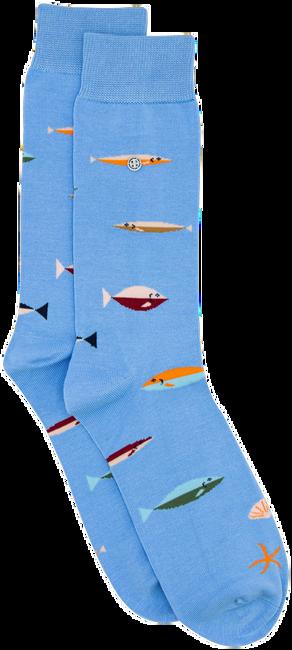 Blaue Alfredo Gonzales Socken FISH  - large