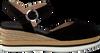 Schwarze UNISA Espadrilles JACER  - small