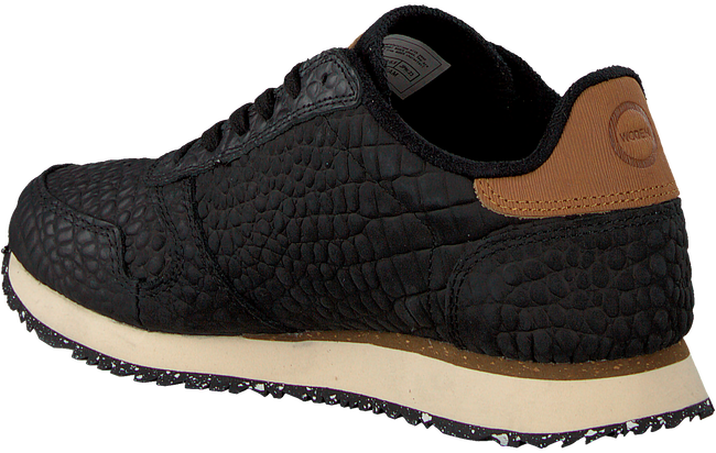 Schwarze WODEN Sneaker YDUN CROCO  - large