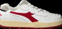 Weiße DIADORA Sneaker low MI BASKET LOW USED  - medium