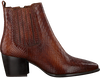 Cognacfarbene NOTRE-V Stiefeletten 580 001FY  - small