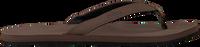 Braune INDOSOLE Zehentrenner ESSENTIAL FLIP FLOP  - medium