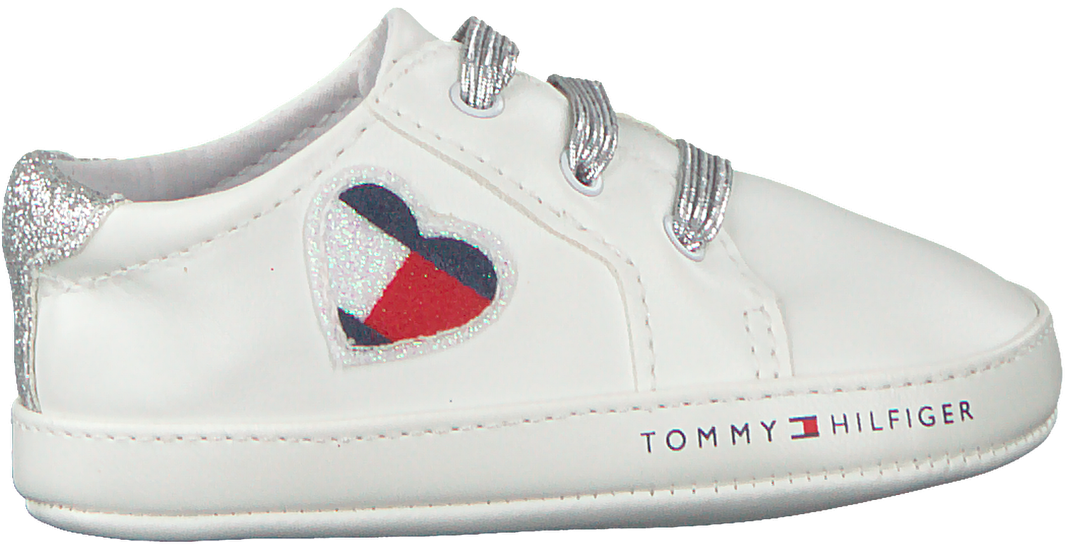 first rate latest discount cheap for sale Weiße TOMMY HILFIGER Babyschuhe LACE-UP SHOE