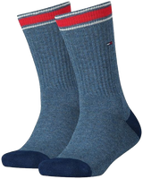 Blaue TOMMY HILFIGER Socken TH KIDS ICONIC SPORTS SOCK 2P - medium