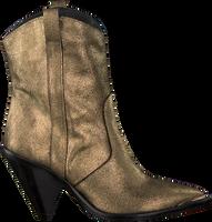 Goldfarbene TORAL Cowboystiefel 12031  - medium