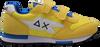 Gelbe SUN68 Sneaker low BOYS NIKI NYLON SOLID  - small