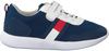 Blaue TOMMY HILFIGER Sneaker LOW CUT LACE UP/VELCRO  - small